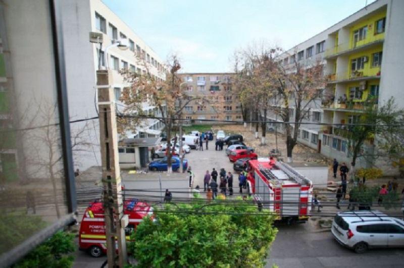 Doi copii si mama unuia dintre ei au murit dupa o dezinsectie, intr-un bloc din Timisoara
