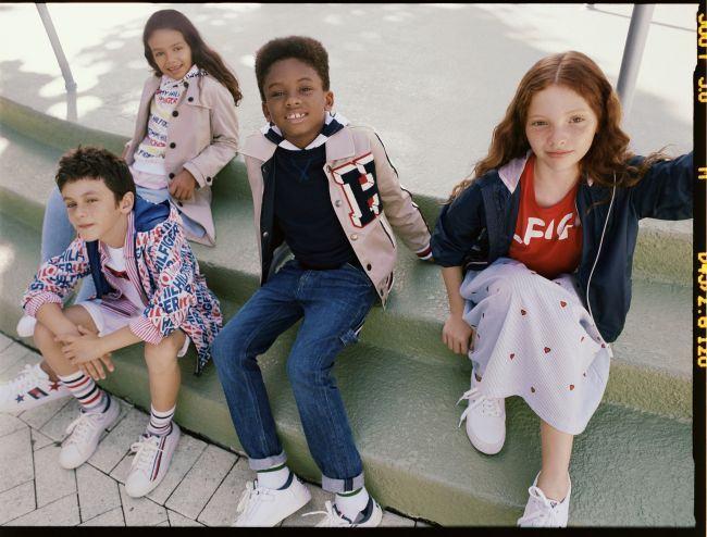 Tommy Hilfiger anunta Campania Kids Primavara 2019
