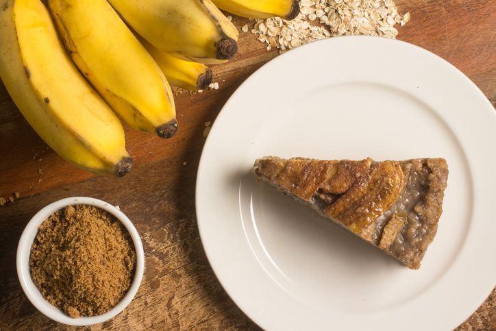 Tort de banane, fara coacere