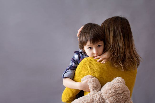 Cum isi manifesta copiii tristetea