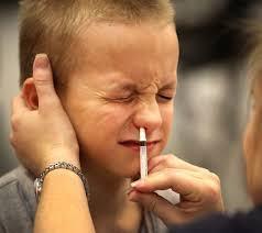 """Primul vaccin antigripal pentru copii, fara injectare. """"Va disparea bariera emotionala a injectiilor"""""""