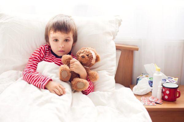 Alimentatia copiilor cand au boli infectioase. Ce NU le dam sa manance in caz de varicela