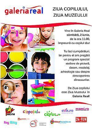 Ziua copilului, Ziua Muzeului in Galeria Real