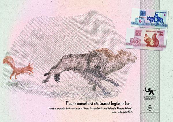 ZooMonetar - Fauna lumii pe bancnote si monede