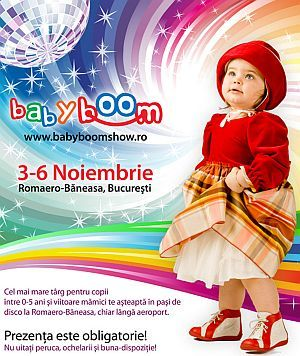 60% din suprafata expozitionala de la Baby Boom Show a fost rezervata!