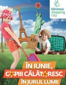 Luna copiilor incepe mai devreme la Baneasa Shopping City