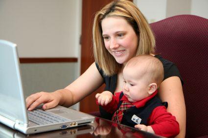 Sunt mamele care muncesc mai sanatoase?