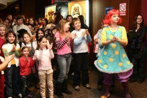 Sute de copii la lansarea animatiei Aventurile lui Sammy 3D