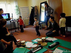 Cursuri de muzica pentru copii la Scoala de Vara Boem Club