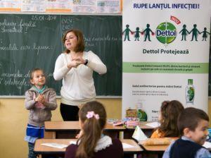 Igiena copiilor sanatosi, un nou program educational