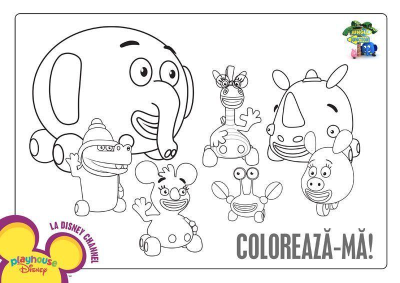 Moto Animalutele Planse De Colorat Disney Copilulro