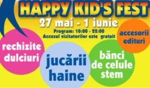 Happy Kid's Fest (27 mai – 1 iunie 2011)