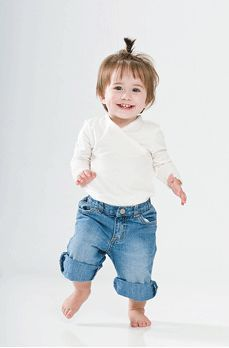 6 lucruri interesante despre mersul bebelusilor
