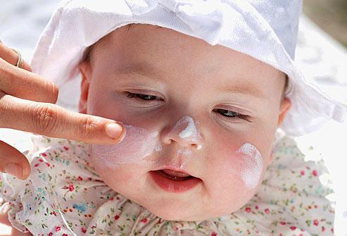 Produse de ingrijire care afecteaza pielea bebelusului