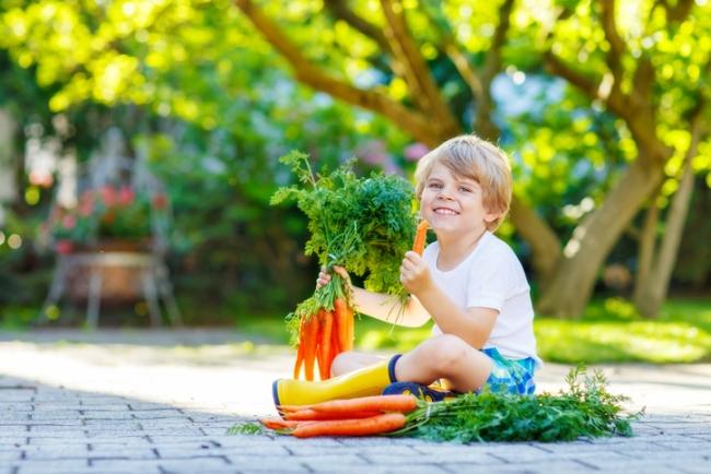 10 trucuri prin care sa-ti convingi copilul sa manance fructe si legume