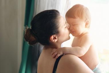 Dragul meu bebelus, imi este dor de tine, chiar daca esti langa mine!