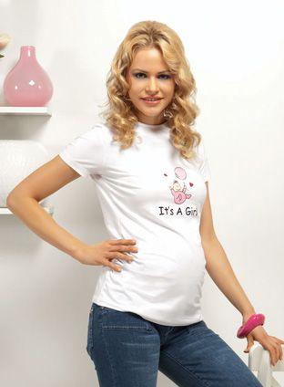 Tricouri cu imprimeuri haioase pentru gravide