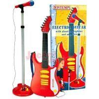 Chitara electrica cu microfon Bontempi