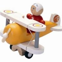 Avion clasic Plan Toys