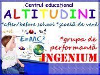 After and before school Altitudini / Scoala de vara