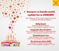 Cursuri de creativitate pentru copii cu Edu & Care