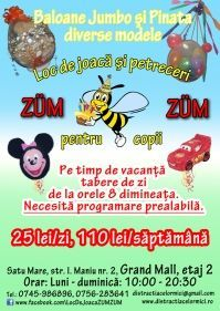 Zum-Zum - loc de joaca pentru copii
