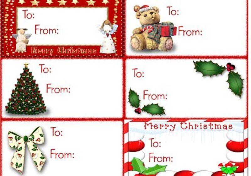 5 idei pentru etichetele cadourilor de Craciun