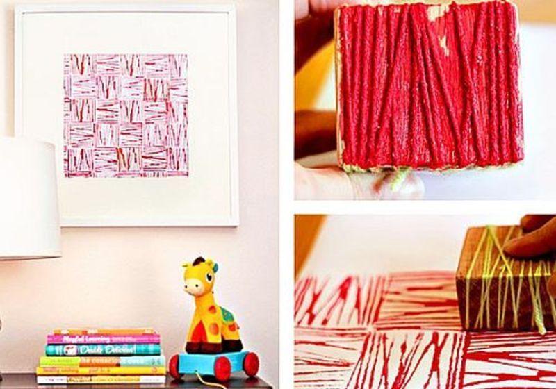 8 proiecte pentru peretii camerei copilului pe care le puteti face singuri
