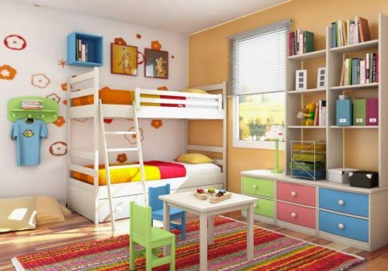 Idei de amenajare pentru camera copilului