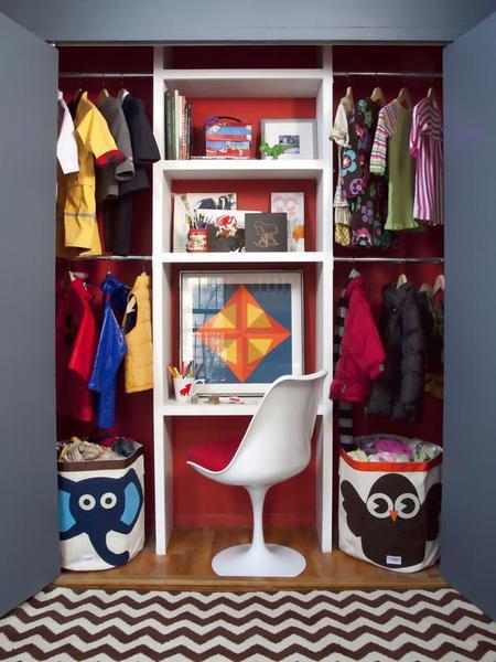 Idei de depozitare pentru camera copilului